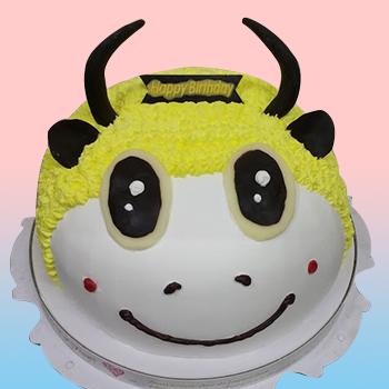 金牛星座蛋糕(黃)