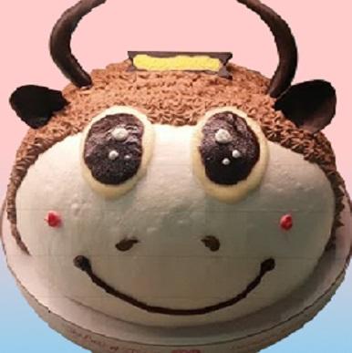 金牛星座蛋糕(咖)