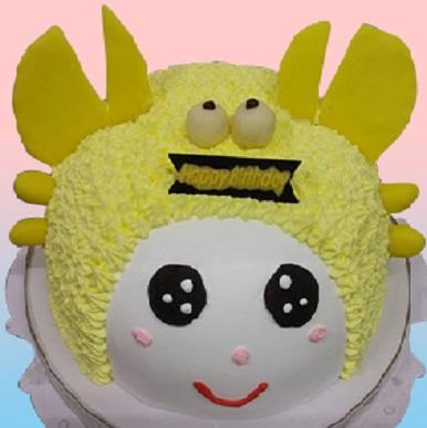 巨蟹星座蛋糕(黃)