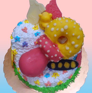 歡慶周歲~寶寶奶嘴蛋糕