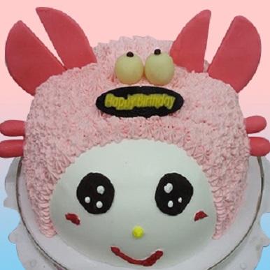 巨蟹星座蛋糕(紅)