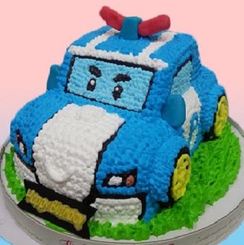 波力3D立體造型蛋糕