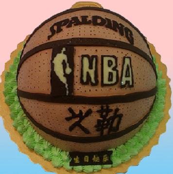 籃球3D造型蛋糕