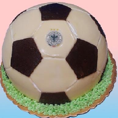 足球3D造型蛋糕