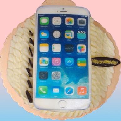 iphone數位手機3D蛋糕