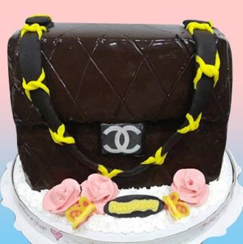 香奈兒精品包3D蛋糕