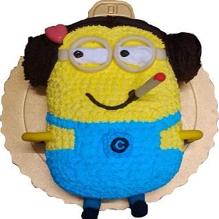 小小兵3D立體蛋糕
