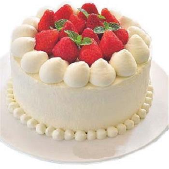 義式冰淇淋-草莓蛋糕
