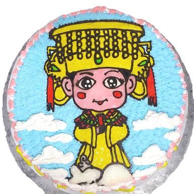 手繪-聖母娘娘
