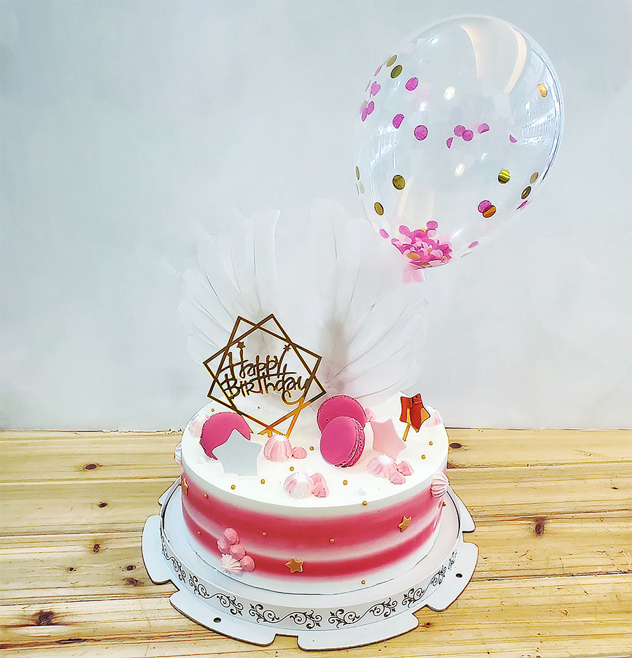網美風馬卡龍蛋糕