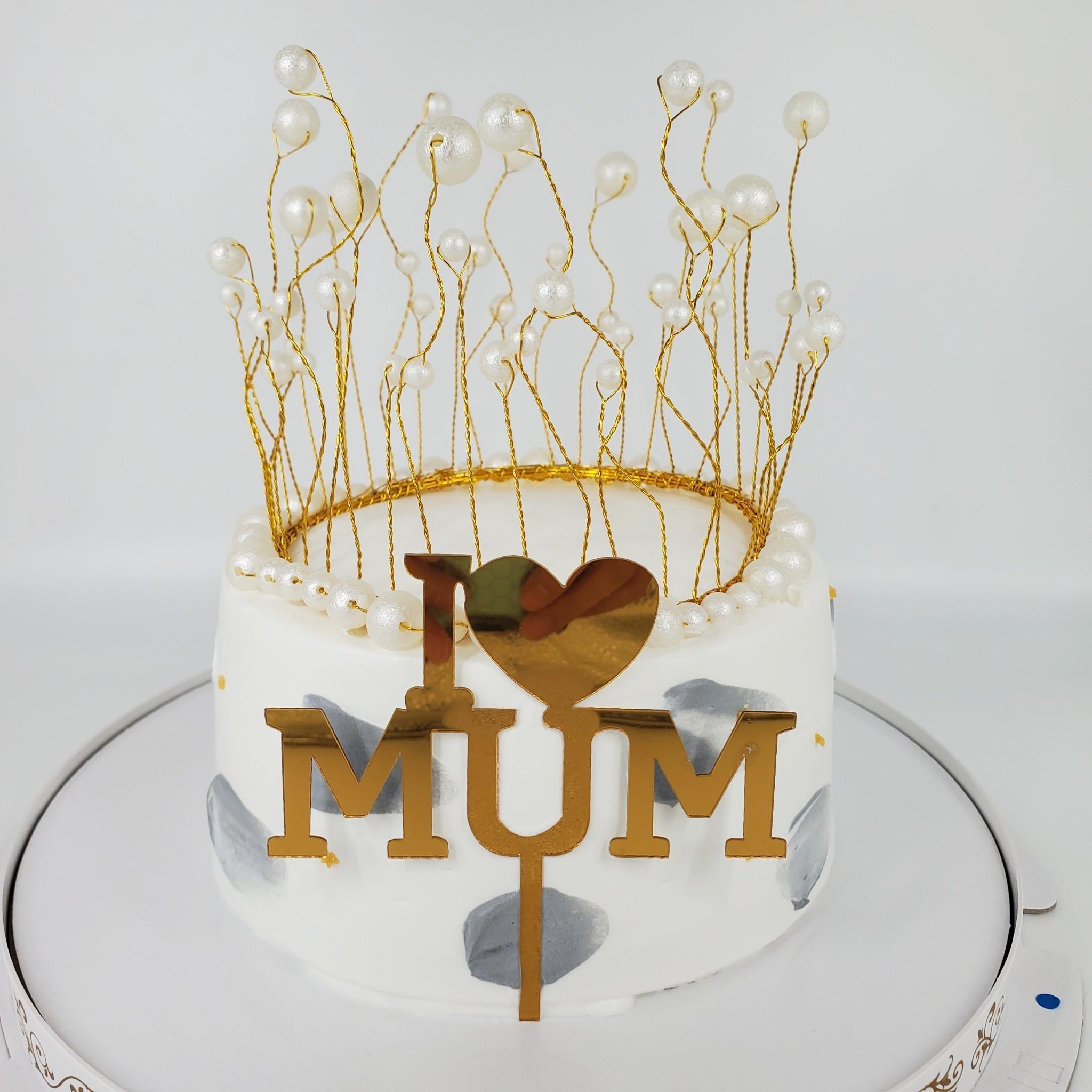 浪漫流蘇蛋糕