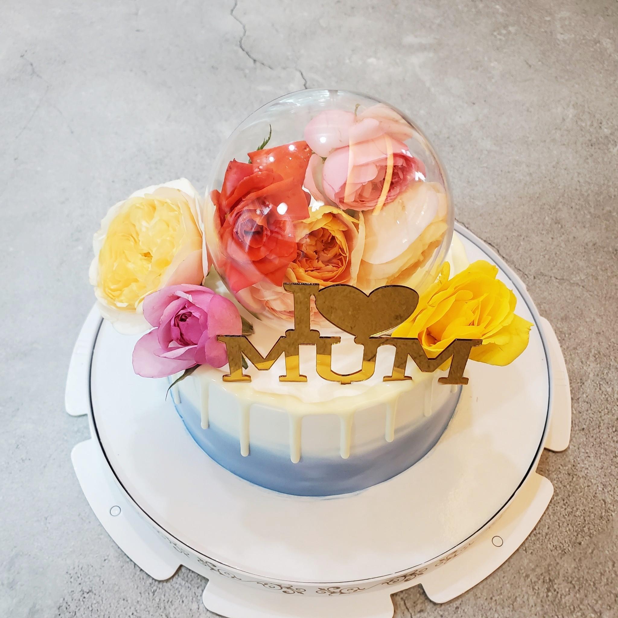 太空玫瑰蛋糕