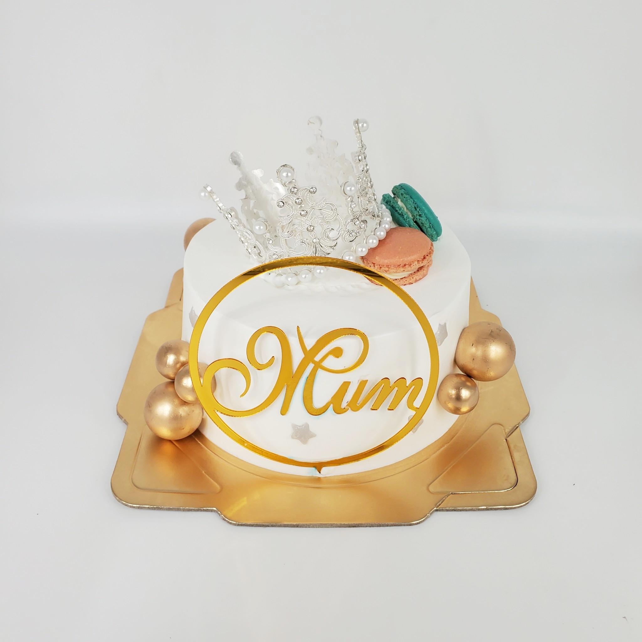 女王皇冠抽錢蛋糕