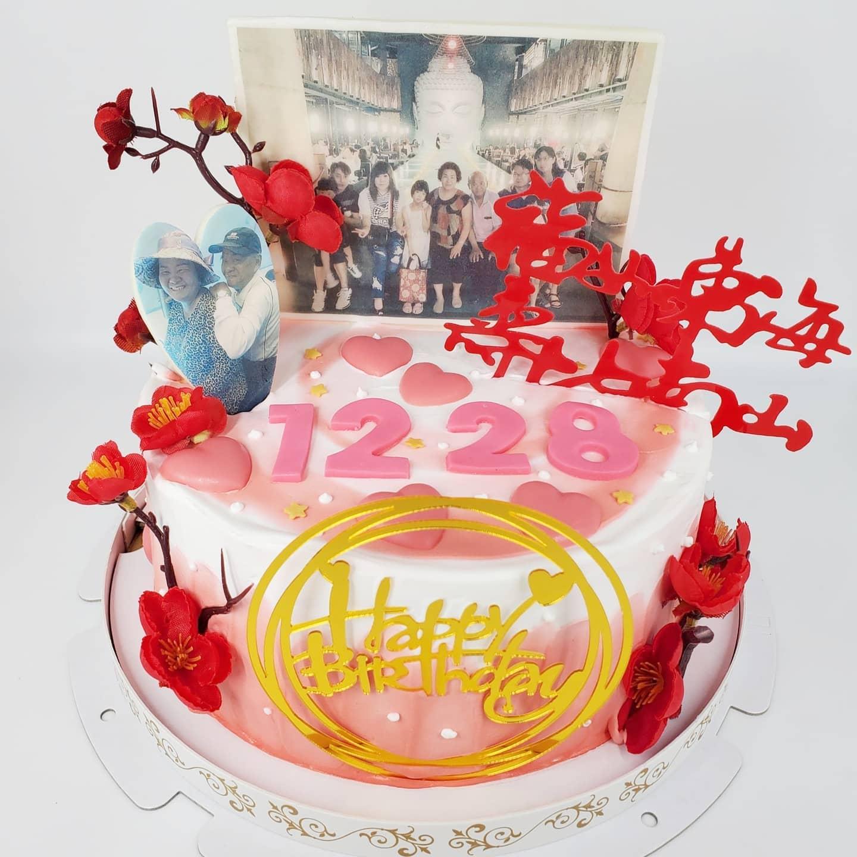 長壽賀歲蛋糕A