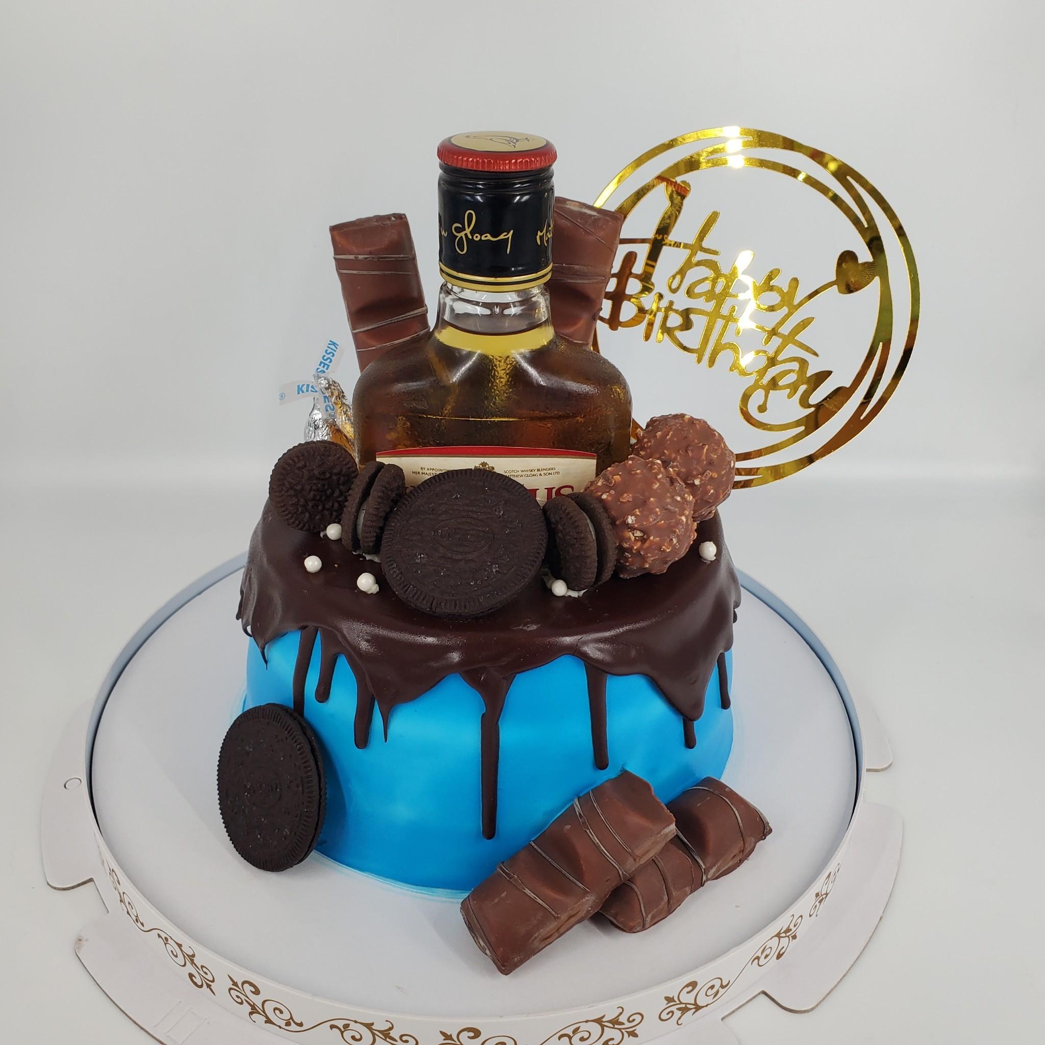 黑巧克力洋酒蛋糕