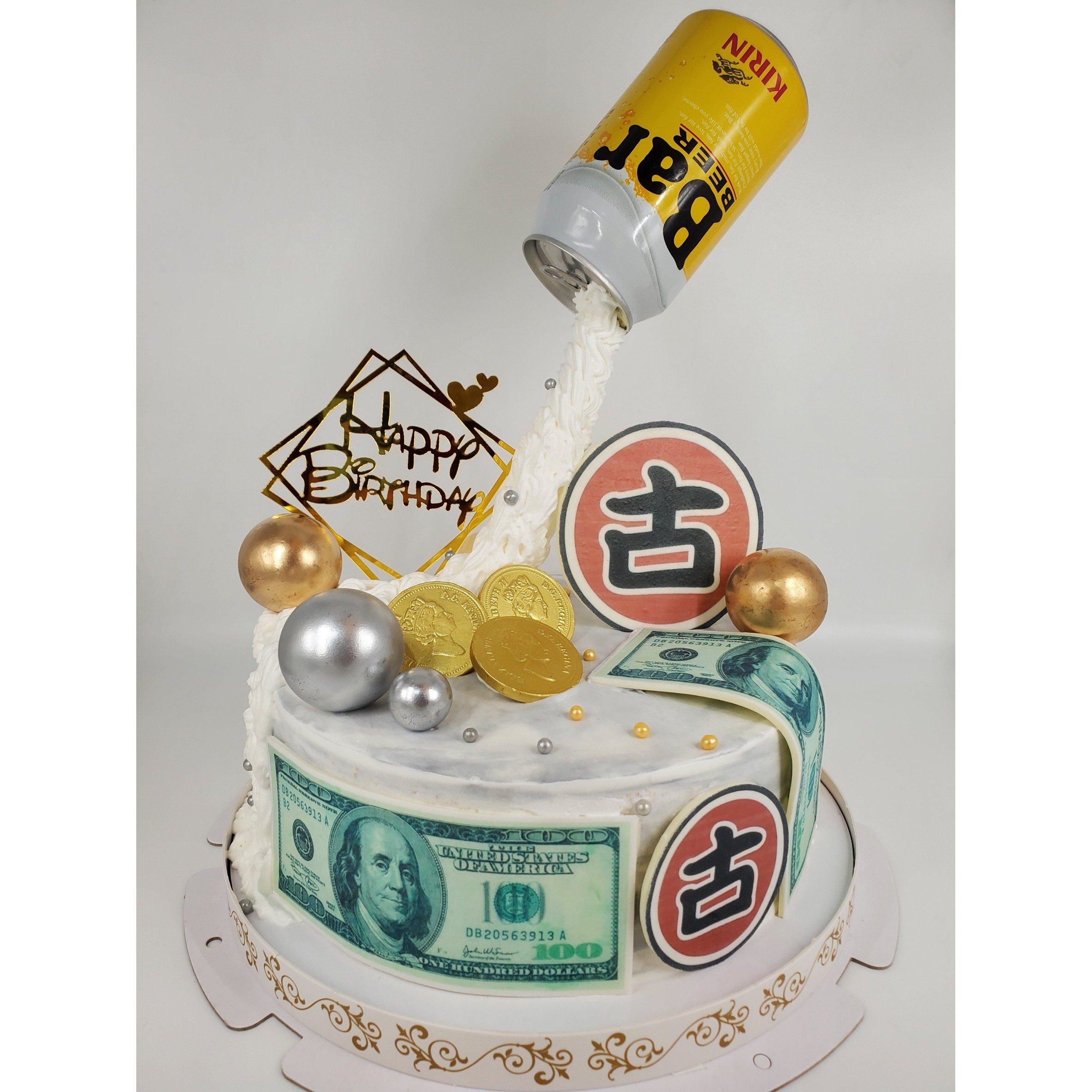爆款!!懸空BAR酒瓶蛋糕