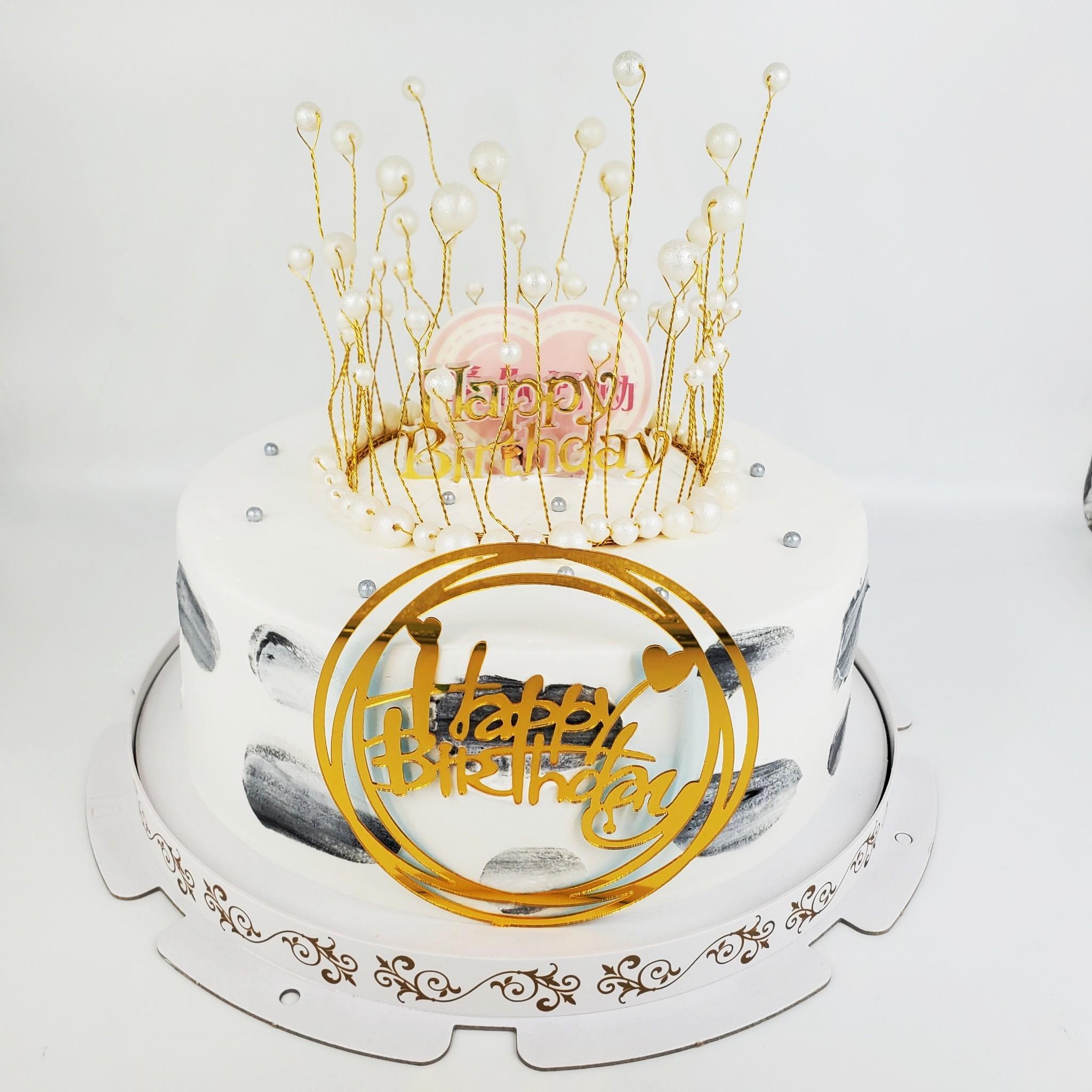浪漫流蘇皇冠造型蛋糕