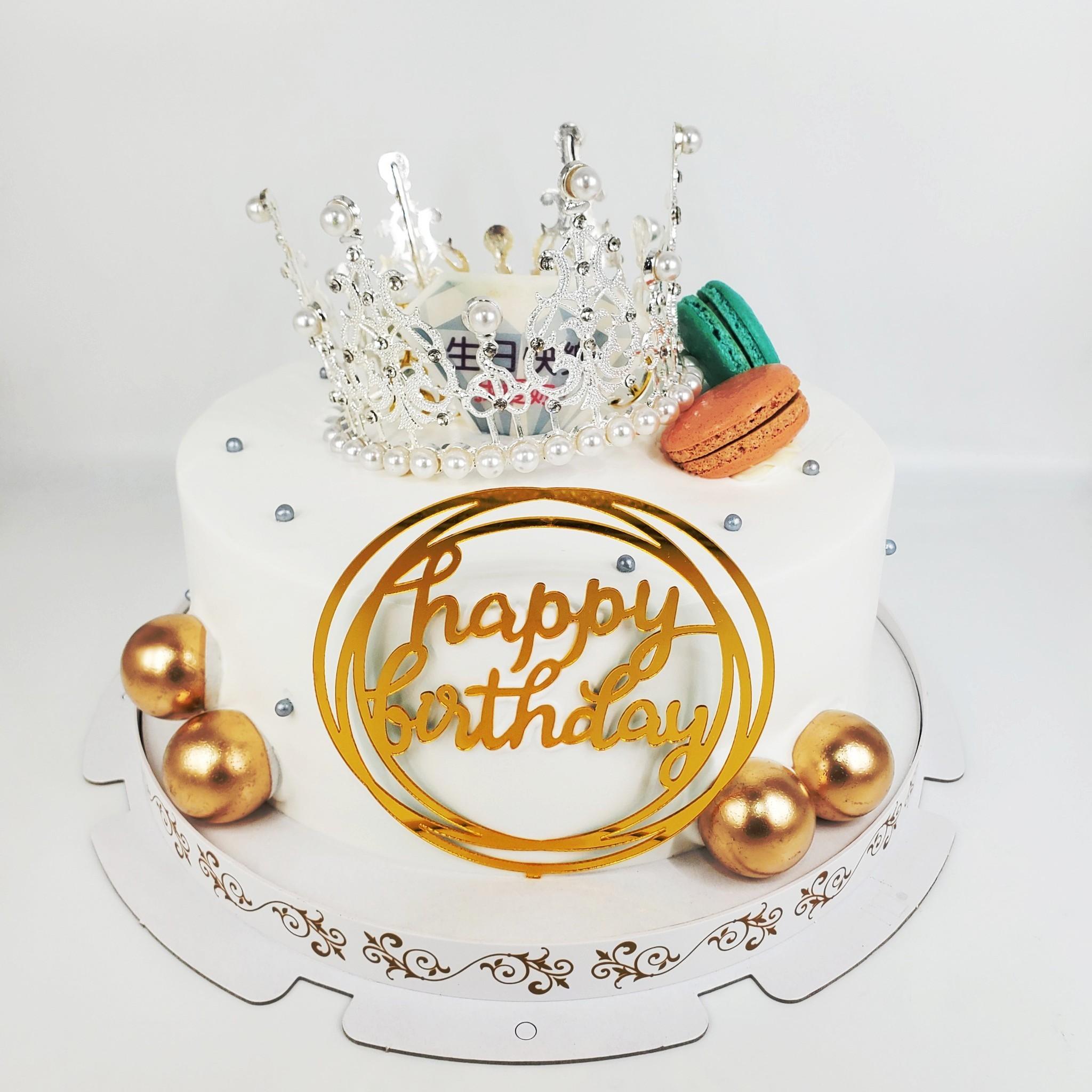 女王皇冠造型蛋糕